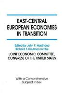 East Central European Economies in Transition PDF