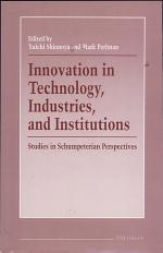 Innovation in Technology, Industries, and Institutions
