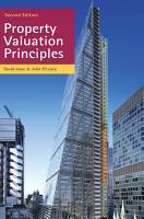 Property Valuation Principles PDF