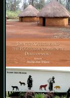 Identity  Culture and the Politics of Community Development PDF