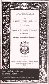 Poesias de Ignacio Perez Salazar y Osorio: Volumen 56