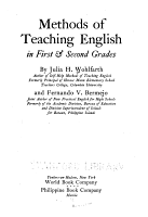 Methods of Teaching English in First   Second Grades PDF