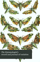The Entomologist's Record and Journal of Variation: Volume 1