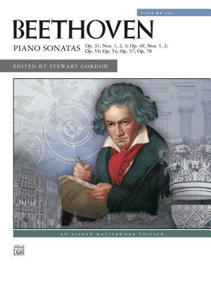 Beethoven Piano Sonatas  Volume 3  Nos  16 24  PDF