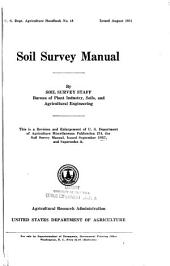 Soil Survey Manual