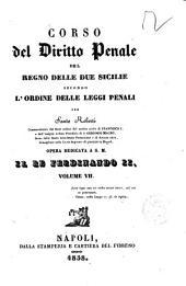 7: Corso del diritto penale del Regno delle Due Sicilie secondo l'ordine delle leggi penali per Santo Roberti