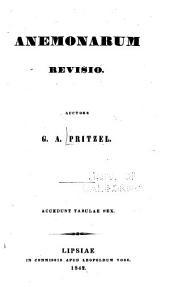 Anemonarum revisio