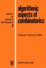 Algorithmic Aspects of Combinatorics