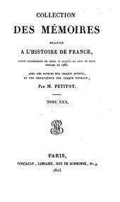 Collection des mémoires relatifs à l'histoire de France: Mémoires de Richelieu ; t. X, Volume30