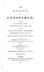 The Office Of Constable Book PDF