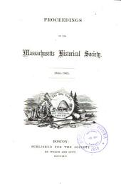 Proceedings of the Massachusetts Historical Society: Volume 8