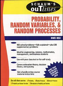 Schaum s Outline of Probability  Random Variables  and Random Processes PDF