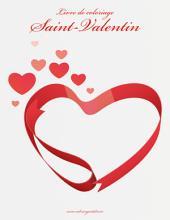 Livre de coloriage Saint-Valentin 1