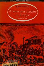 Armies and Warfare in Europe, 1648-1789