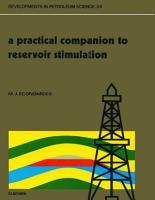 A Practical Companion to Reservoir Stimulation PDF