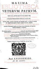 Maxima bibliotheca veterum patrum et antiquorum scriptorum ecclesiasticorum: Volume 15