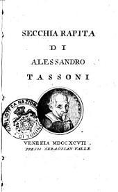 Secchia rapita di Alessandro Tassoni