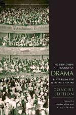 The Broadview Anthology of Drama: Concise Edition