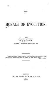 The Morals of Evolution PDF