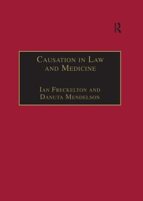 Causation in Law and Medicine PDF