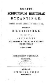 Corpus scriptorum historiae byzantinae: Volume 12