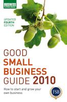 Good Small Business Guide 2010 PDF