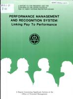 Performance Management and Recognition System PDF