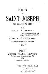 Mois de Saint Joseph des enfants de Marie