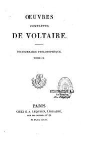 Oeuvres complètes de Voltaire: Volume58