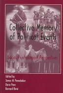 Collective Memory of Political Events PDF