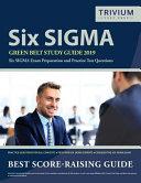 Six SIGMA Green Belt Study Guide 2019 PDF