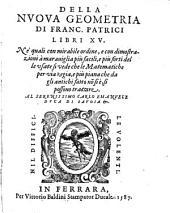 Della Nuova Geometria Libri XV.