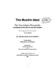 The Ideal Muslim PDF