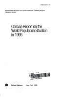 Concise Report on the World Population Situation in 1995 PDF