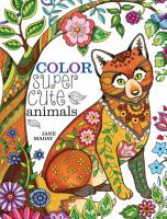 Color Super Cute Animals PDF