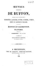 Oeuvres complètes de Buffon, suivies de ses continuateurs Daubenton, Lacépède, Cuvier, Duméril, Poiret, Lesson et Geoffroy-St-Hilaire: Volume17