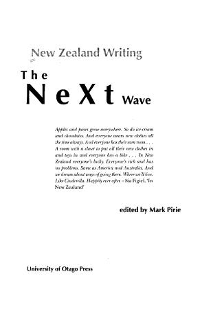 New Zealand Writing PDF