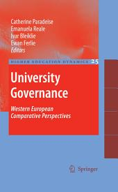 University Governance: Western European Comparative Perspectives