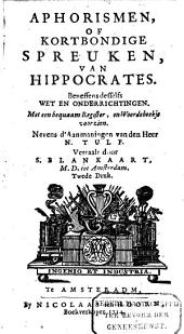 Het geslagt en leven van Hippocrates