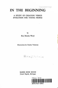 In the Beginning PDF