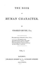 The book of human character: Volume 1