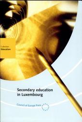 Secondary Education in Luxembourg