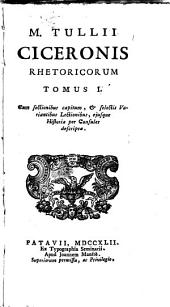 Rhetorica: Volume 1