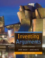 Inventing Arguments  Brief PDF