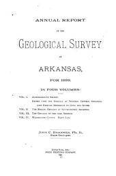 Annual Report of the Geological Survey of Arkansas: Volume 4