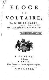 Eloge de Voltaire