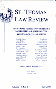 St  Thomas Law Review PDF