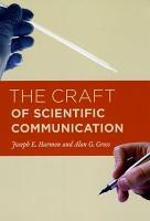 The Craft of Scientific Communication PDF
