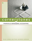 Cornerstones of Financial and Managerial Accounting PDF