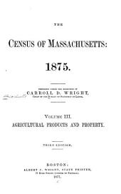 Census of the Commonwealth of Massachusetts: 1875
